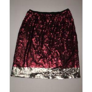Lane Bryant Glamour X Womens Plus Size 16 Sequin